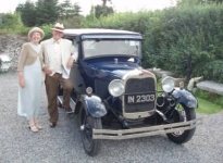 Knockrose hosted the start of the Vintage Car parade of the Dun Laoghaire festival.